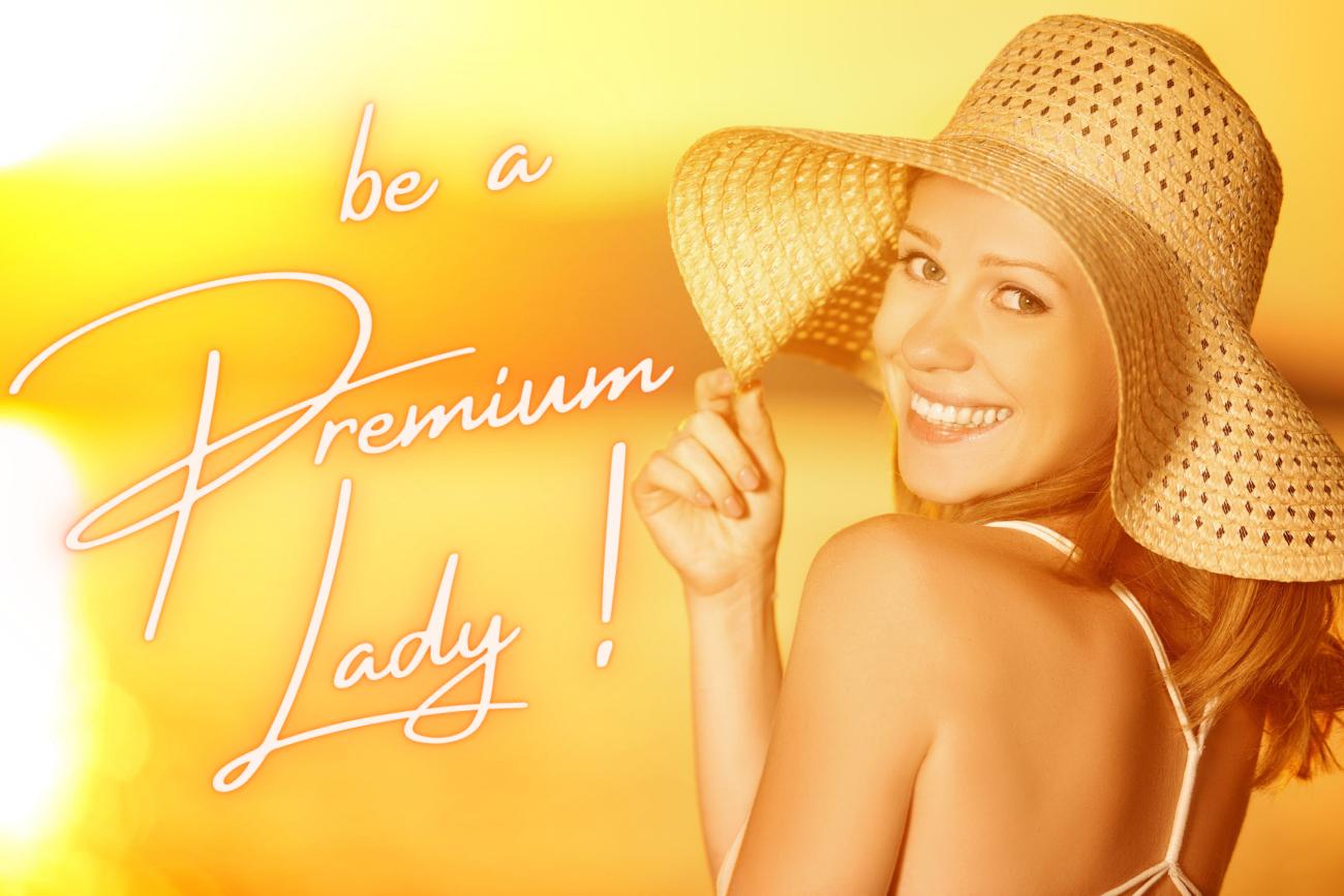 Lady Premium Tag<br />